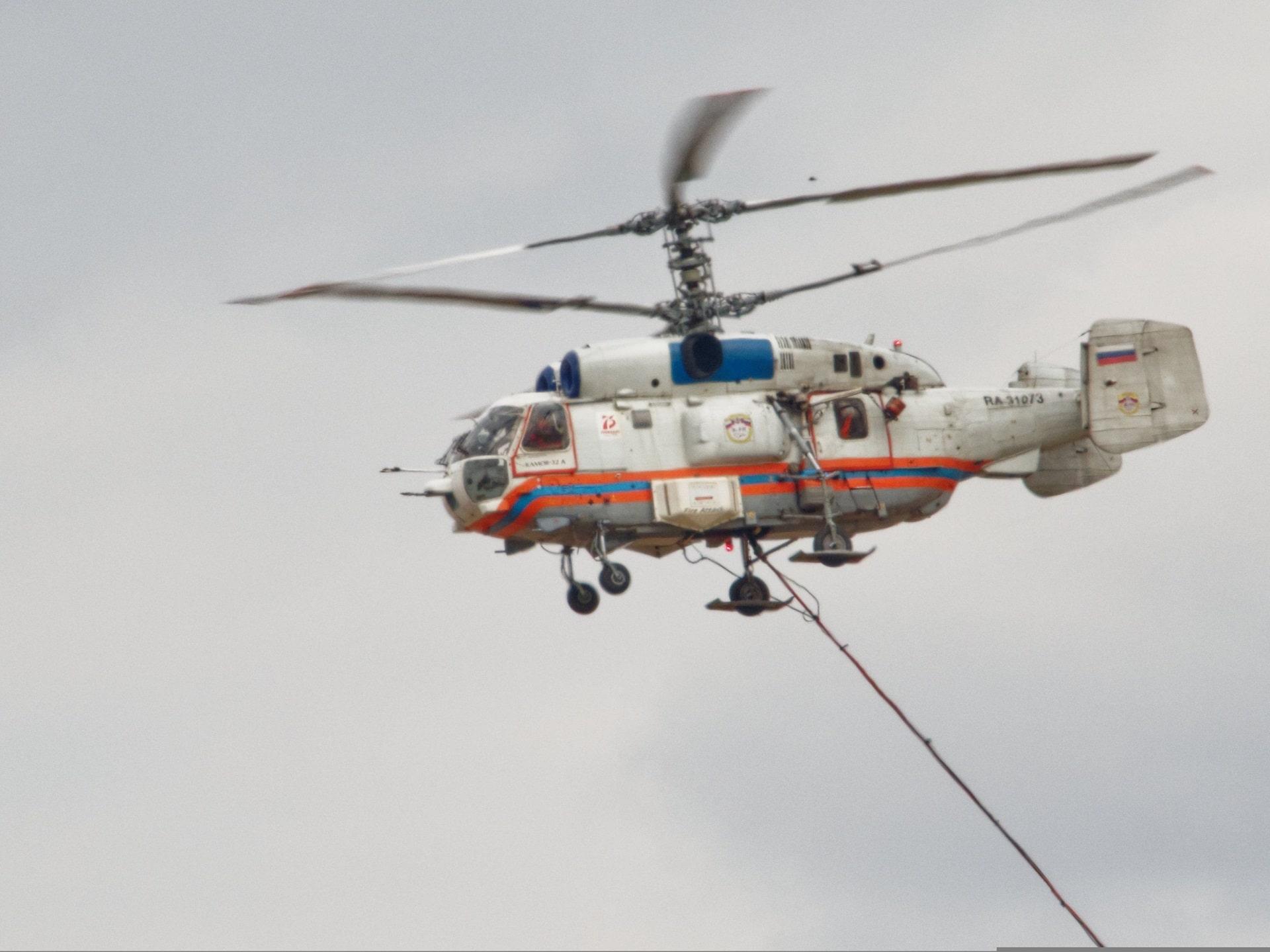 Четыре года назад в столице впервые было организовано круглосуточное дежурство пожарных вертолетов