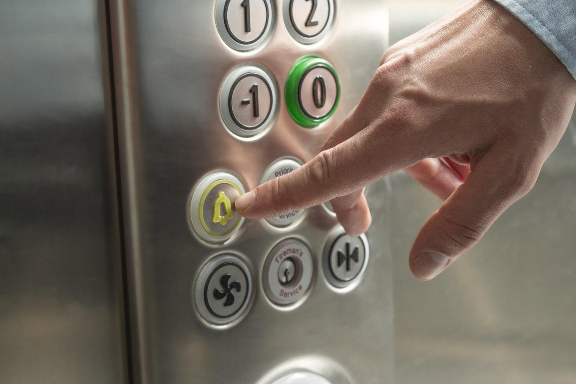 Пожар в лифте, что делать?
