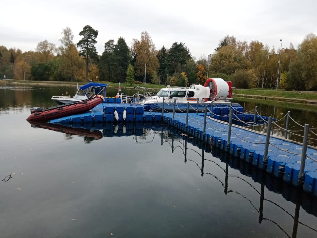 На Школьном озере спасатели готовятся к зиме