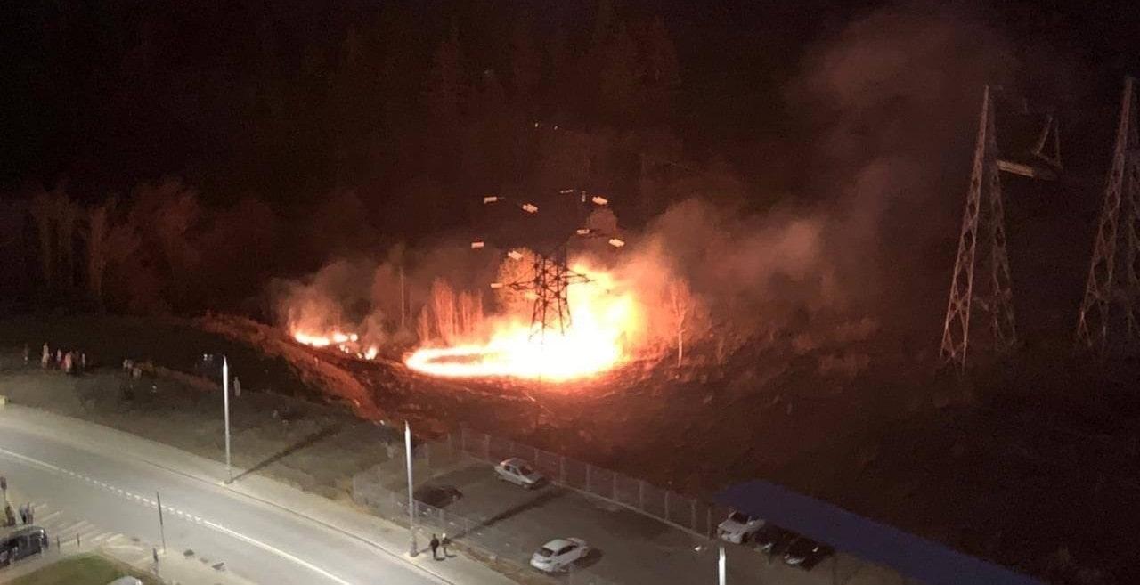 В окрестностях Зеленограда зарегистрированы травяные пожары