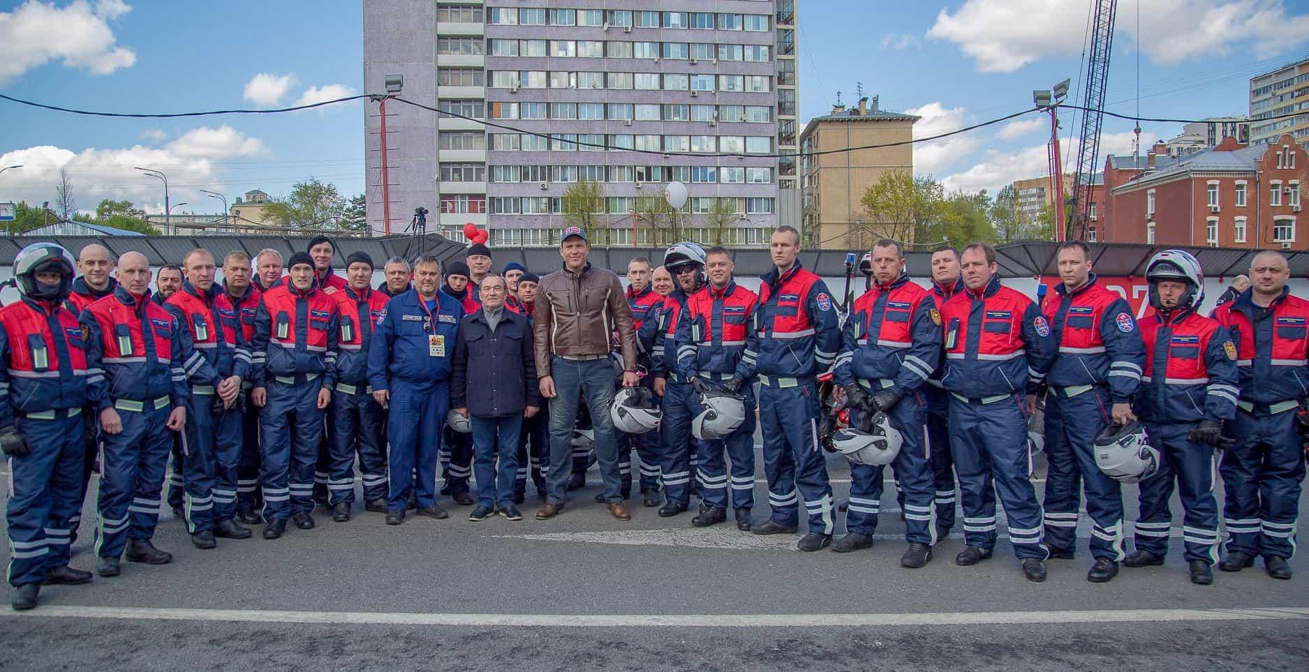 В мае приступили к дежурству мотоспасатели