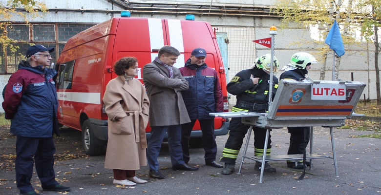 В Зеленограде проведены командно-штабные учения